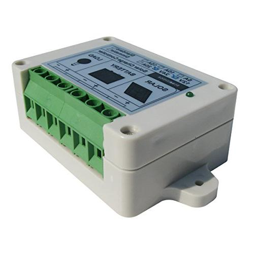 ECO-WORTHY 300 Panel Watt Wave Solar Controller for Boat, Cabin, Off-Grid Volt Battery System