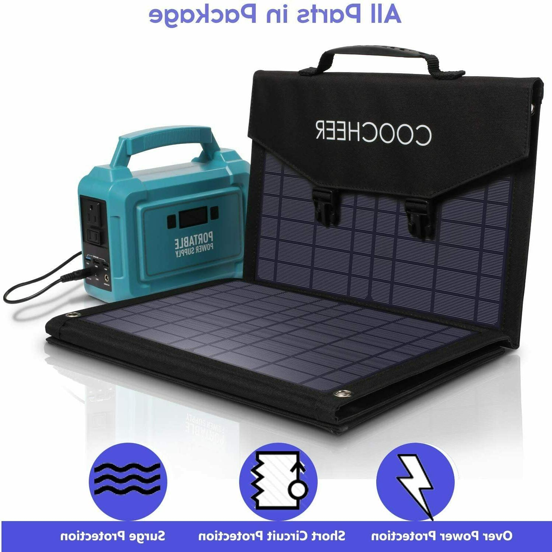 120W/60W Solar Charger Solar Power Station