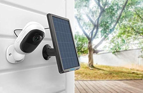Reolink Solar Supply Wireless Rechargeable Security Camera Reolink 2/Argus Waterproof, Mount, Continuous Power