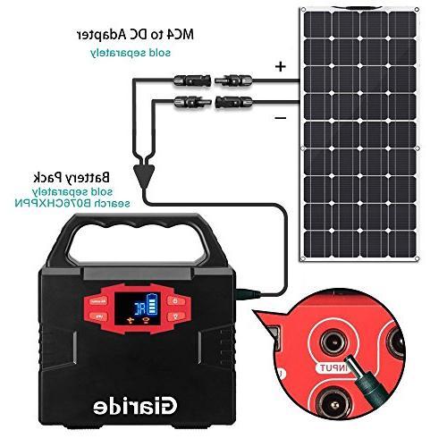 Solar 12V Cell Panel Charger Volt Battery, RV, Boat,