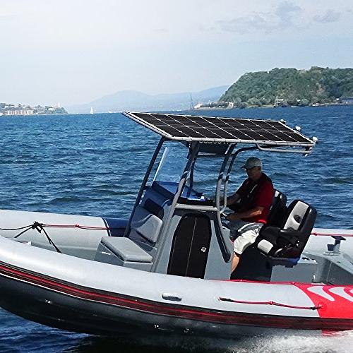 Solar GIARIDE 18V 12V Cell with Flexible Bendable Solar Panel Volt RV, Boat, Car, Motorhome