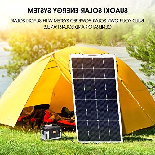 SUAOKI 150W Solar Flexible Connector Boat