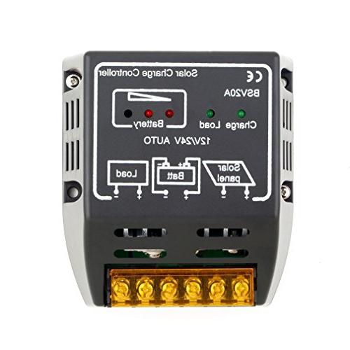 solar panel charge controller battery