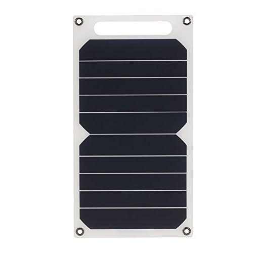 Lixada Charger for High Effiency Outdoor Activities Use Portable Ultra Monocrystalline