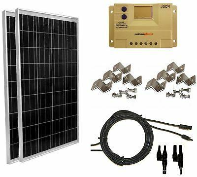 solar panel complete grid rv