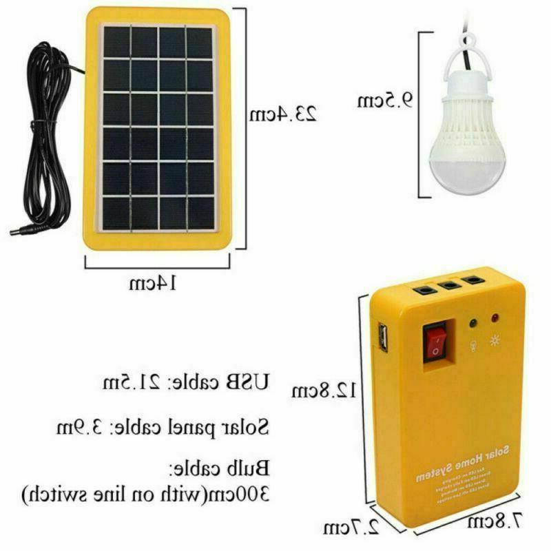 Solar Portable Light 12V Camping