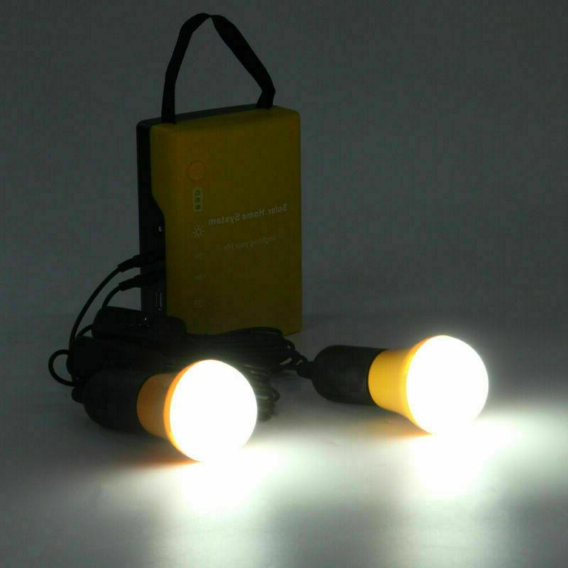 Solar Panel Portable Light Charger Camping