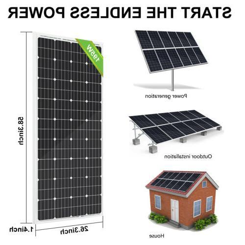 ECO-WORTHY 100 Watt Panel