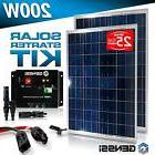 200W Solar Panel Kit Controller with MC4 wires Spliters RV B