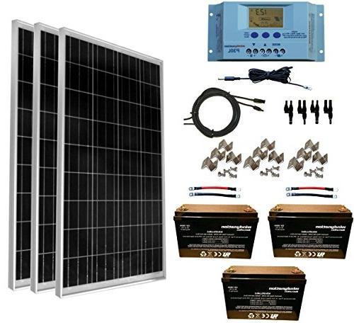 solar panel kit w lcd