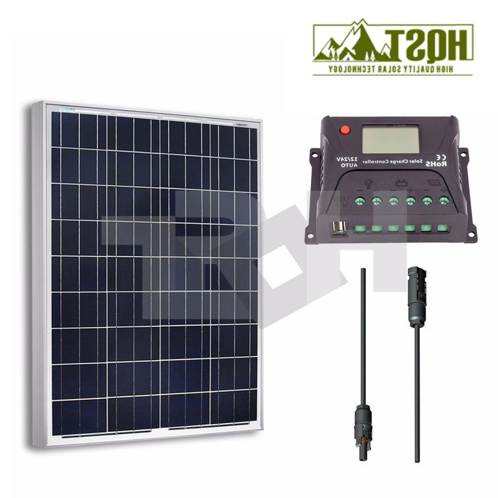 NEW Solar 100 Kit 12V RV 100W Off Grid