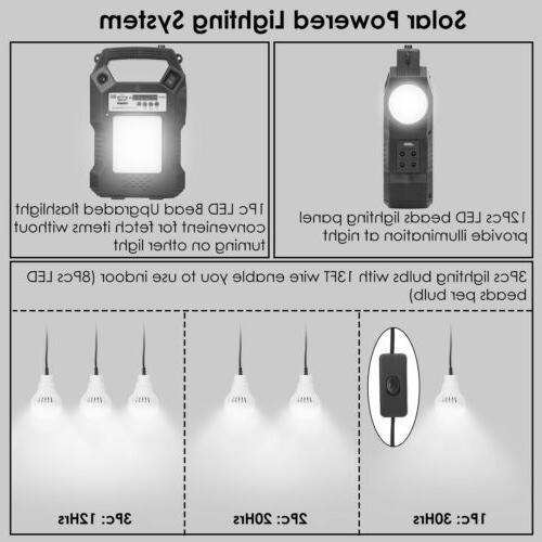 Solar Kit Power Bulbs