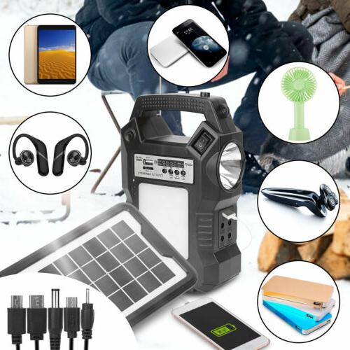 Solar Kit Portable Pack Bulbs