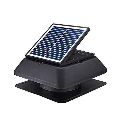 solar panel powered adjustable angle