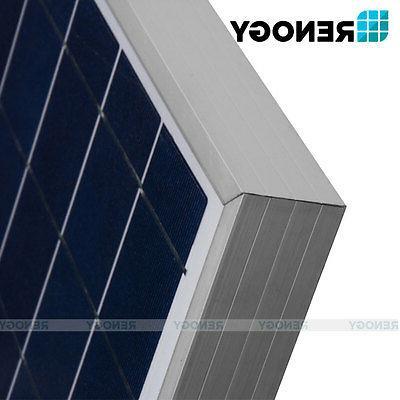 Renogy Solar Watt 2X100W PV Off Grid Kit Boat Charger