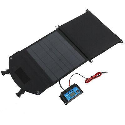 Solar DC18V Foldable For Charging Mobile Phones Laptops