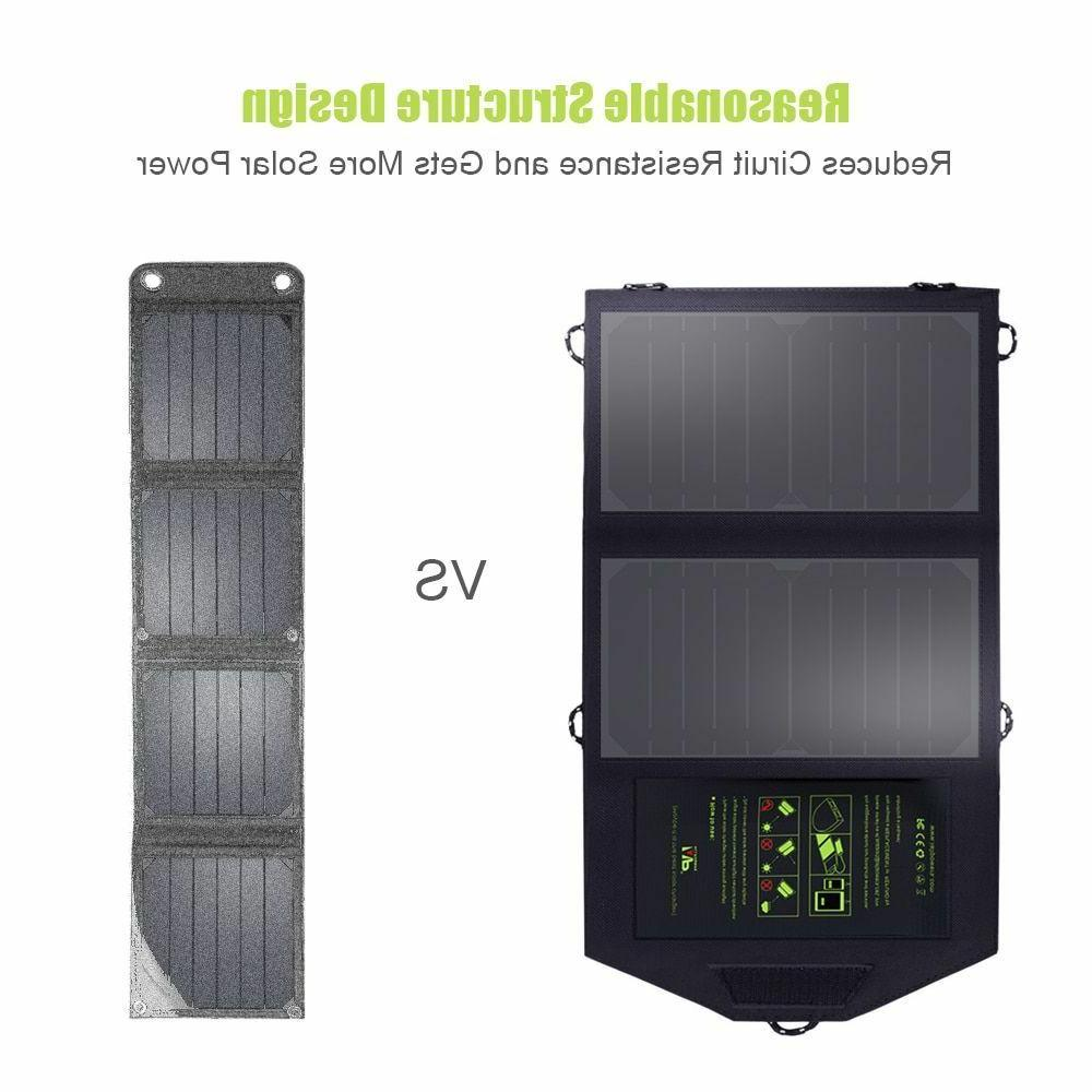 Solar Battery Charging Phone Outdoors