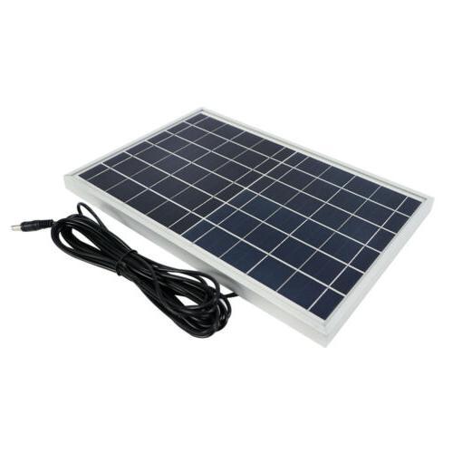 Solar Panels Power Outdoor USB 3X Bulbs Light
