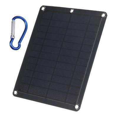 Solar Panels Generator Power System USB Charging Home