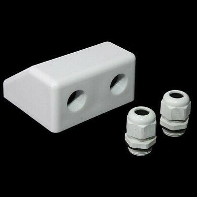 Solar Entry Gland Box ABS Plastic Waterproof Useful
