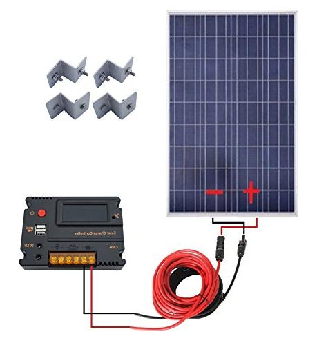 ECO-WORTHY Solar Panels 20A Charge Off-Grid Battery System