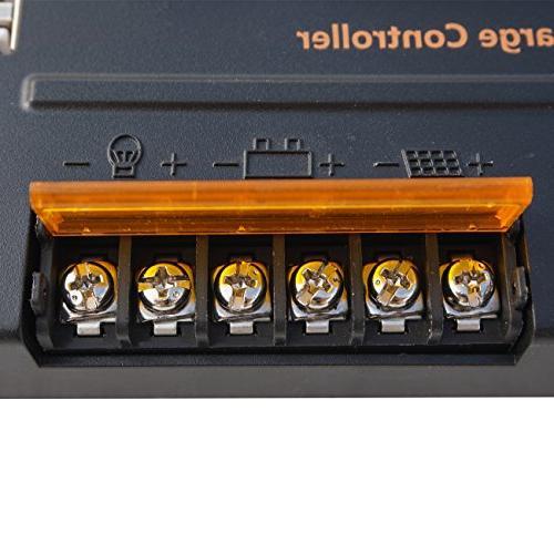 ECO-WORTHY 100 12V Solar 20A Controller Off-Grid Volt Battery System