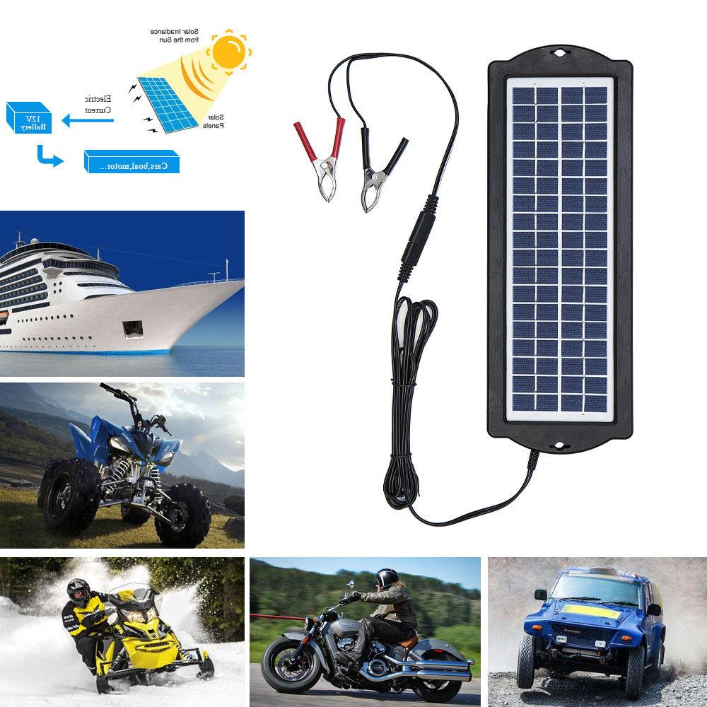 Solar Panels Kit for Auto Car 3W 20A Battery Charger Control