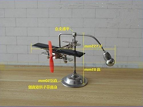 Sunnytech Solar Plane Aircraft Balancing Toy Kinetic Balance Toy Decompressive Science Offic Toy