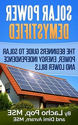 solar power demystified beginners guide energy independence