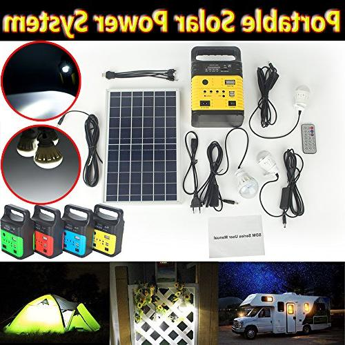DODOING Solar Power Generator Portable kit, Solar Generator