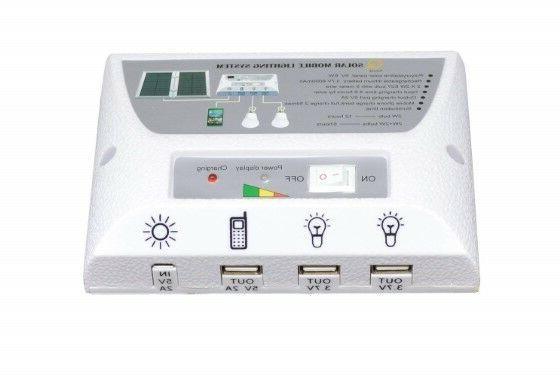 Solar USB Port Power for Indoor Activities