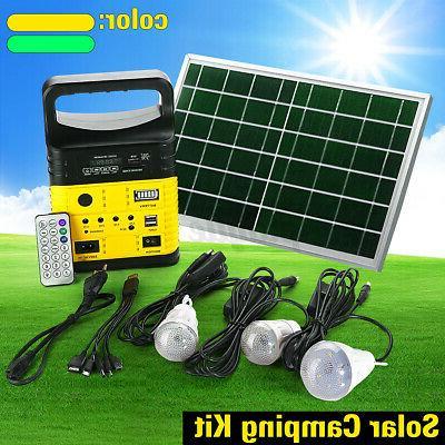 Solar Generator LED USA