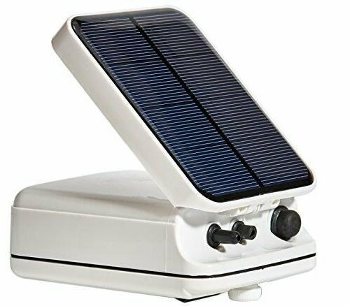 solar power pond oxygenator air
