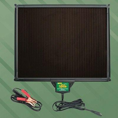 5w solar powered battery charger maintainer 12v