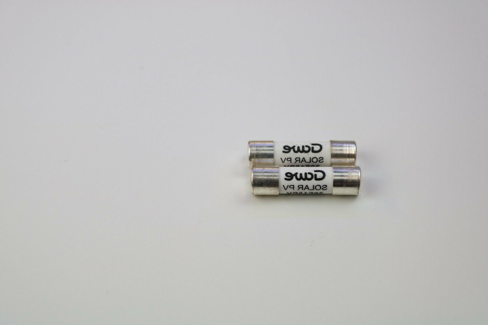 Solar PV Fuses 15A protection tp 1000Vdc pair of holder+fuse