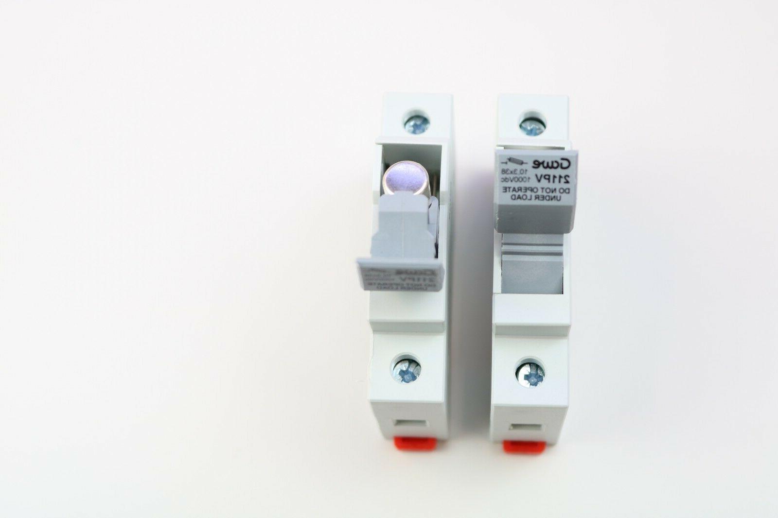Solar String 15A DC protection tp 1000Vdc holder+fuse