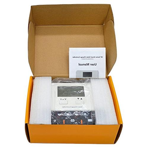 SolarEnz 40Amp Solar Charge Panel Battery with USB Display 12V/24V Solar Sealed Gel