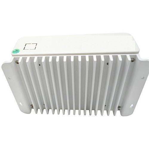 SolarEnz 40Amp PWM Solar Charge Battery Intelligent USB Port 12V/24V -Negative Solar for Vented Sealed Gel