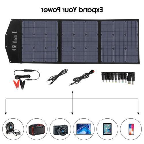SUAOKI Monocrystalline Solar Panel Charge Grid RV