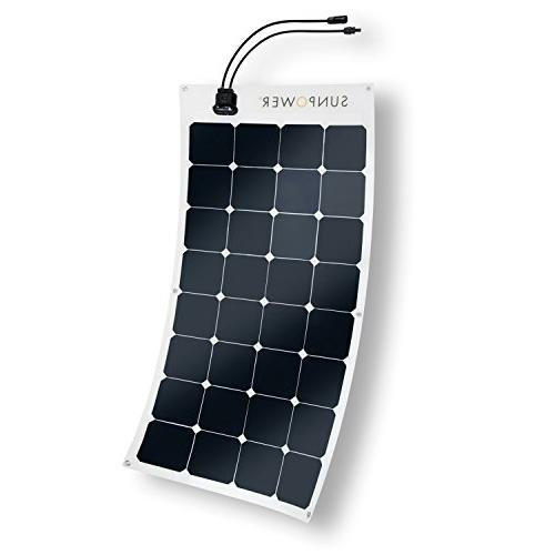 ExpertPower 444Wh Solar Kit Flexible Panel Camping and