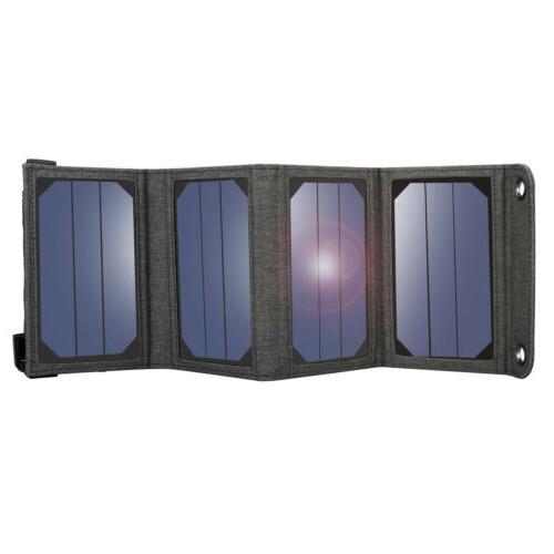 Suaoki 7W/14W Solar Charger With Portable SunPower Solar Pan