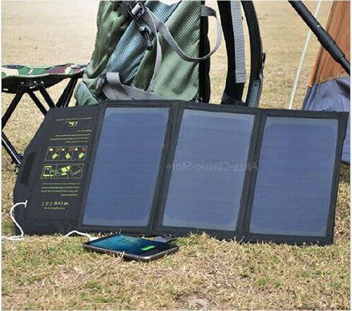 The Portable 5V 21W Portable Solar Dual USB Output