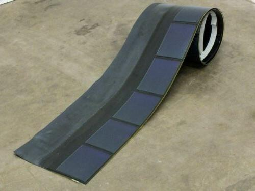 Uni-Solar SHR-17 17W Solar Roofing Shingle - Flexible Amorph