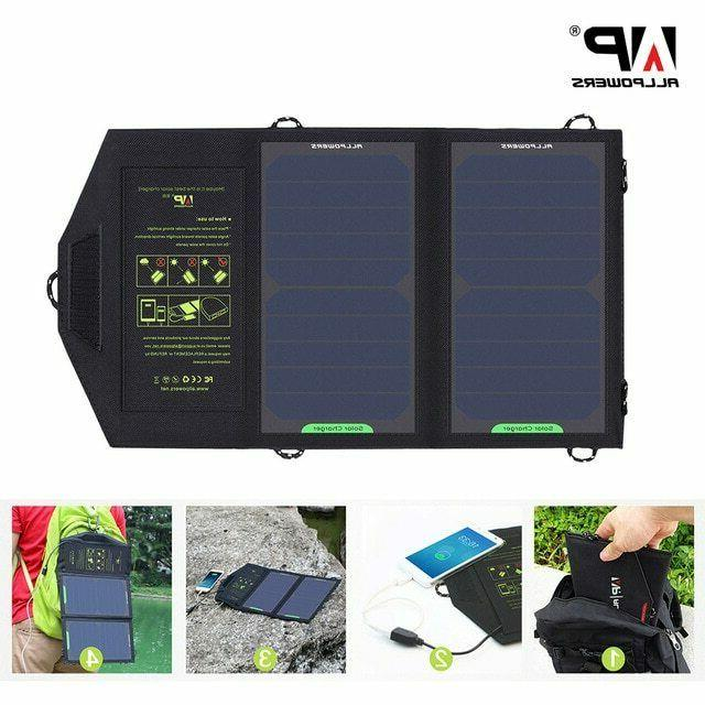 USA!! ALLPOWERS Panel Battery Charger 10W 5V for Outdoor