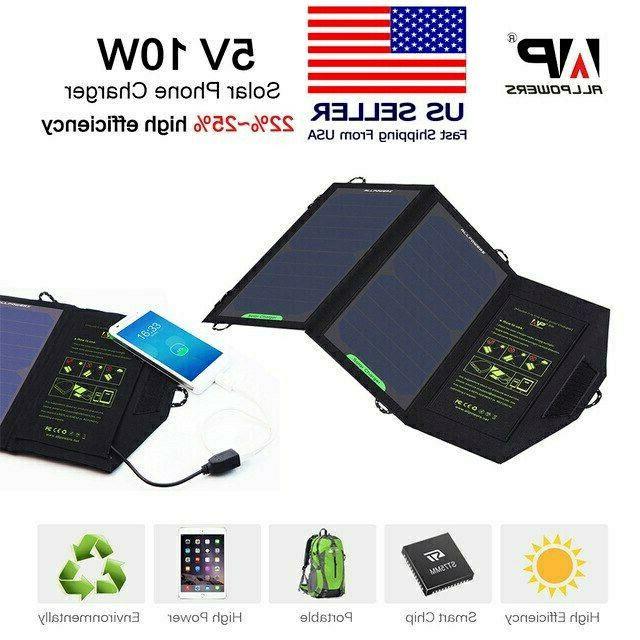 usa solar panel battery charger 10w 5v