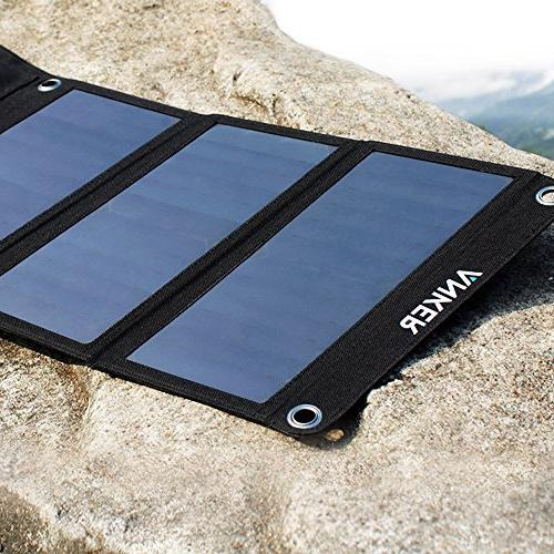 Anker USB Solar Charger, for 6s Plus, Galaxy S7 / / Edge/Plus, Note LG, Nexus, HTC More