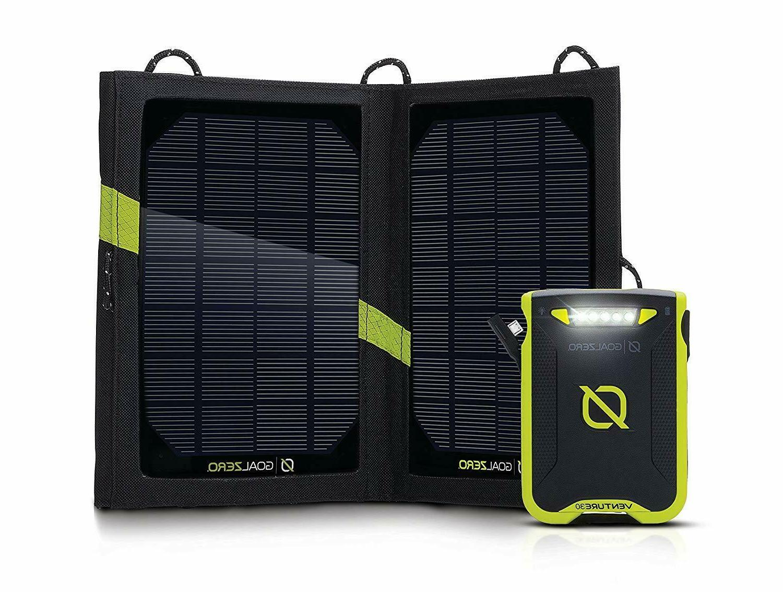 Goal Zero Venture 30 Solar Recharging Kit with Nomad 7 Solar