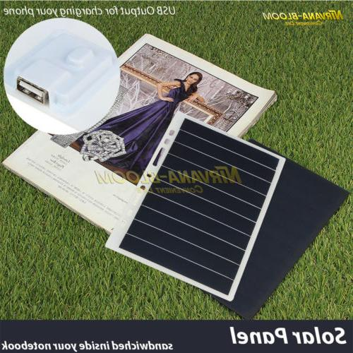 Waterproof Portable Solar Charger For Cell Tablet