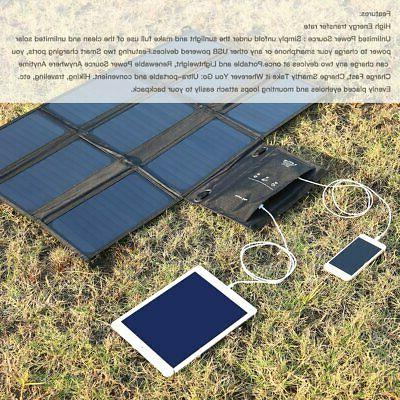 Waterproof 60W Solar Charger for US