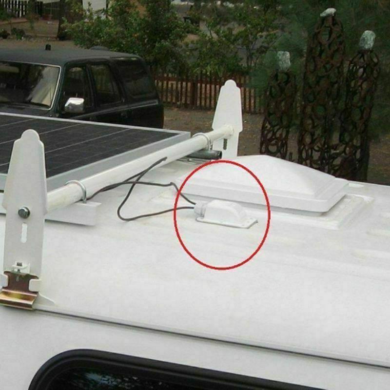 Plastic Single Entry Gland Box Solar Panels